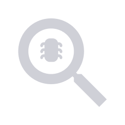 Defect icon depicting a magnifying glass