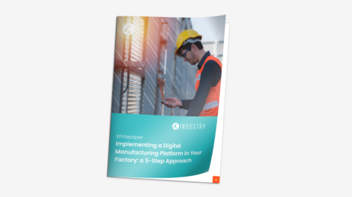 4Industry Whitepaper: Implementing a digital manufacturing platform: a 5-step approach